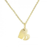 ANITA JUNE | Halsband | Leaf Love - 18K Guld