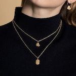 ANITA JUNE | Halsband | Leaf Love - 18K Guld