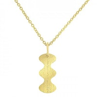 ANITA JUNE | Halsband | Wave at Me  - 18K Guld
