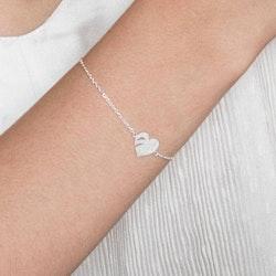 ANITA JUNE | Armband | Leaf Love - Sterlingsilver
