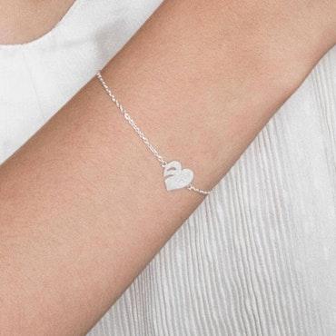 ANITA JUNE   Armband   Leaf Love - Sterlingsilver