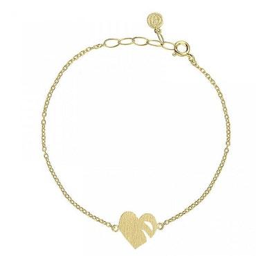 ANITA JUNE   Armband   Leaf Love - 18K Guld