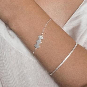 ANITA JUNE   Armband   Wave at Me - Sterlingsilver