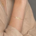 ANITA JUNE | Armband | Wave at Me - 18K