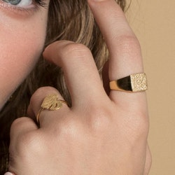 ANITA JUNE | Ring | Leaf Love - 18K Guld