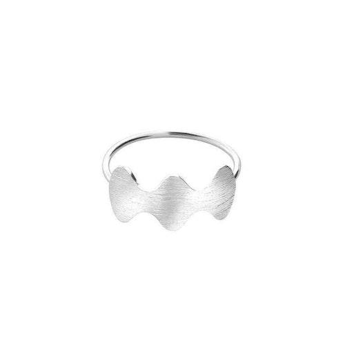 ANITA JUNE   Ring   Wave at Me - Sterlingsilver