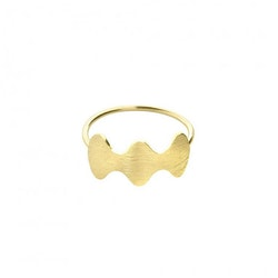 ANITA JUNE | Ring | Wave at Me - 18K Guld