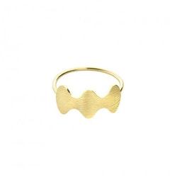 ANITA JUNE | Ring | Wave at Me - 18K Guld