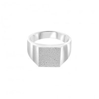 ANITA JUNE | Ring | Balboa Square Signet - Sterlingsilver