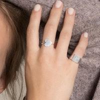ANITA JUNE   Ring   Balboa Square Signet - Sterlingsilver