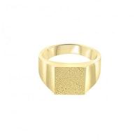 ANITA JUNE | Ring | Balboa Square Signet - 18K Guld