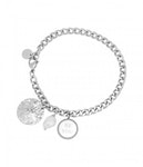 BUD TO ROSE | Armband | Be You Charm Steel