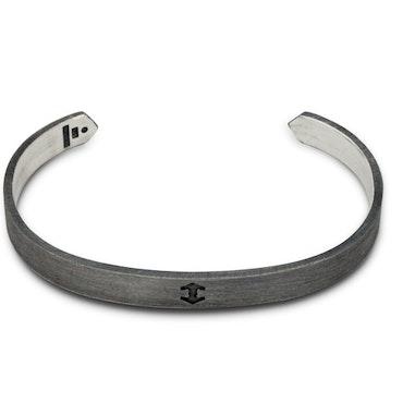 TREEM | Armband | Halo Arc | Patinerat Sterlingsilver