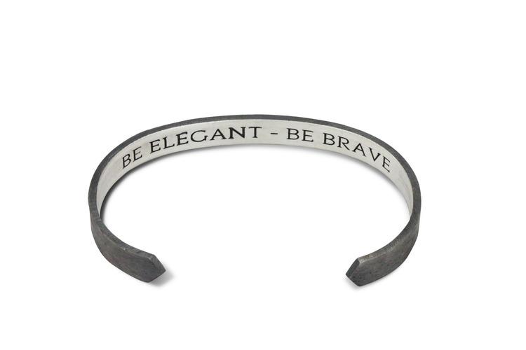 treem armband oxiderat silver halo