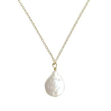 ANITA JUNE | Halsband | Coin Pearl - Guld