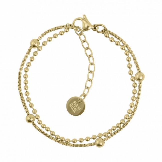 BUD TO ROSE | Armband | Sacramento Gold