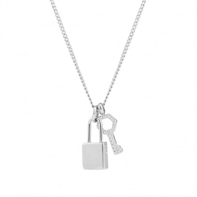 BUD TO ROSE | Halsband | Love Lock Mini Steel