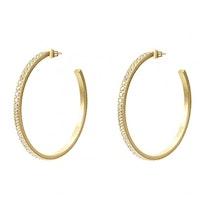 BUD TO ROSE | Örhängen | Crown Hoop Gold