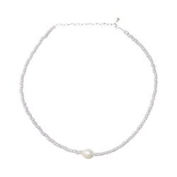 ANITA JUNE | Halsband | Purple Pearl - Guld