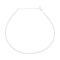 ANITA JUNE | Halsband | Small Pearl - Silver