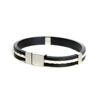 SO SWEDEN | Armband | Menswear | White and Silver