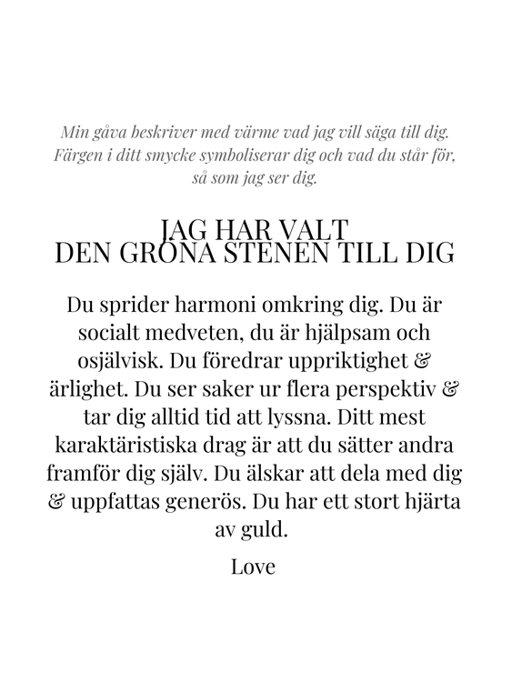 STAR OF SWEDEN   Kort halsband    Silver   Milky Aqua