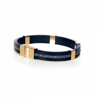 SO SWEDEN   Armband   Menswear   Blue & Gold