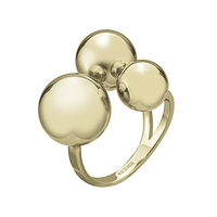 BUD TO ROSE   Ring   Brea Large Gold