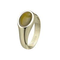 BUD TO ROSE   Ring   Retro Green/Gold