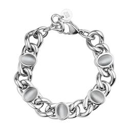 BUD TO ROSE | Armband | Retro Grey/Silver