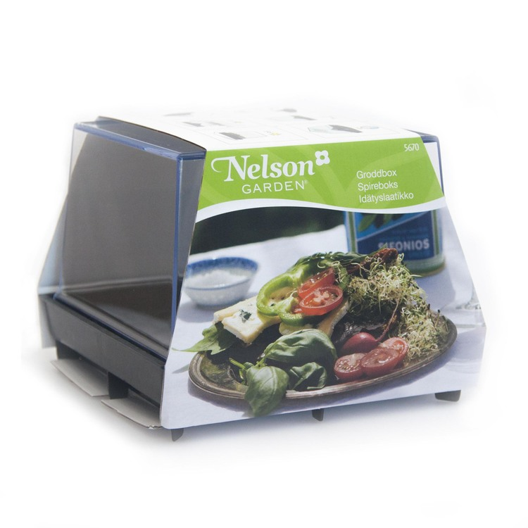 Groddbox + alfalfa- och rädisfrön