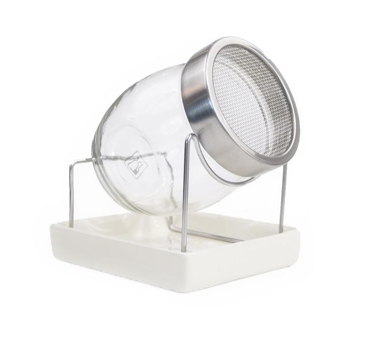 Presentlåda: Groddburk i glas + 2 frötuber
