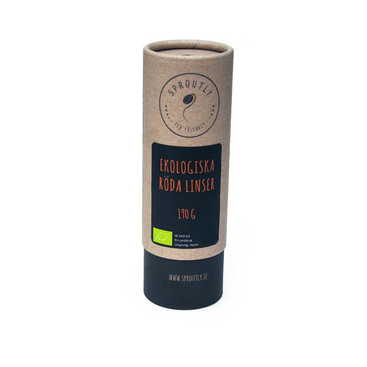 Ekologiska Röda Linser 190g - 1kg