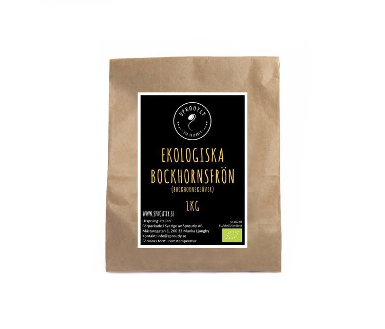 Ekologiska Bockhornsklöverfrön 170g - 1kg