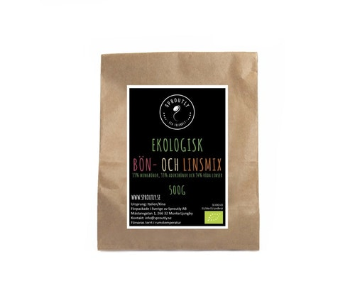 Ekologisk bön- och linsmix 500g - 1kg