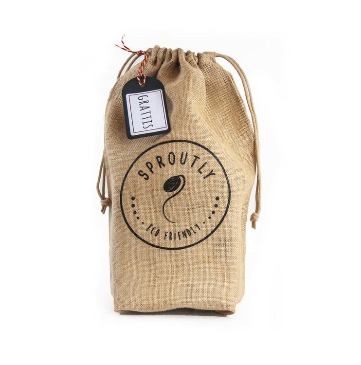 Presentpåse: Groddbox + 2 frötuber