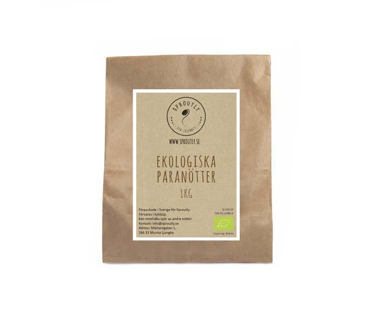 Ekologiska paranötter 500g - 1kg