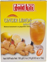Tea Gold Kili Natural Ginger Lemon  18 gr