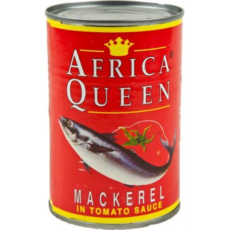 Africa Queen Mackerel Tomato Sauce 425 g
