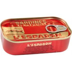 Sardine L'espadon In Oil 125 g