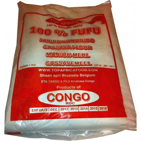 Cassava Flour Congo 1 kg