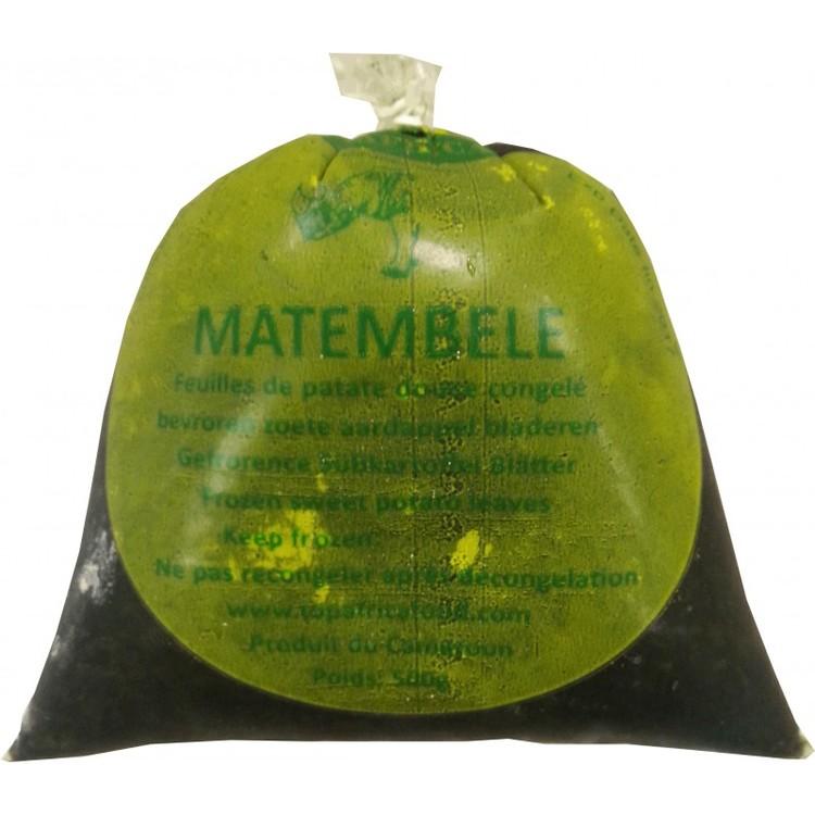 Matembele (Feuilles de patate) 500 g