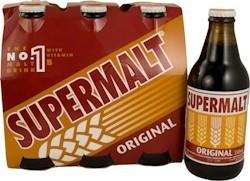Supermalt Bottles  330 ml