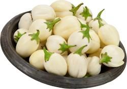 Garden Eggs (små Aubergines) 1 kg