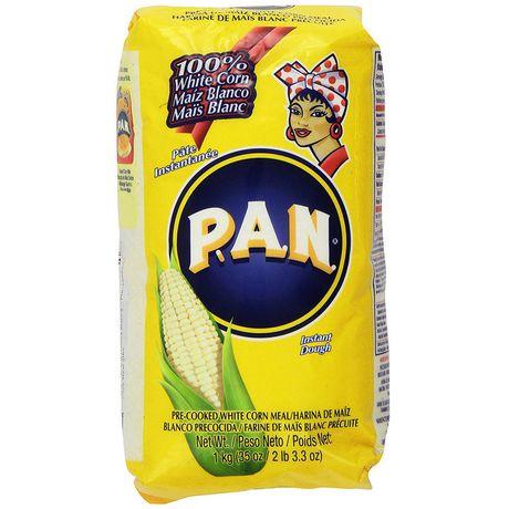 Pan White Maisflour - Yellow 1 kg