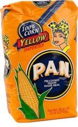 Pan Yellow Maisflour - Orange 1kg