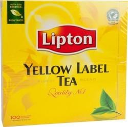 Tea Lipton Yellow Label 1 x 100 pcs