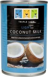 Coconut Milk Light 7% Fat - Triple Lion 400 ml
