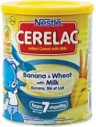Cerelac Banana Wheat and Milk 400 g