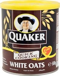Quaker White Oats 500 gr